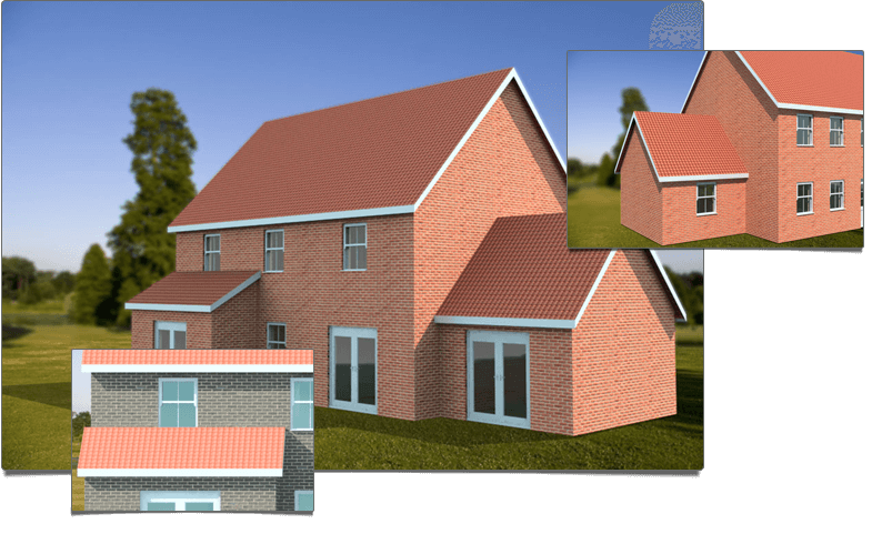 CAD software for builders and developers One click to 3D Photorealistic