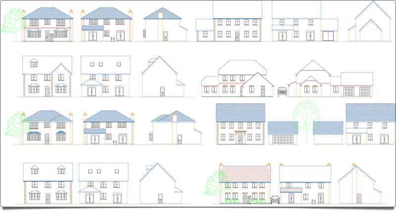 PlansXpress Building plan drawing tool Create-full-2D-elevations-in-seconds
