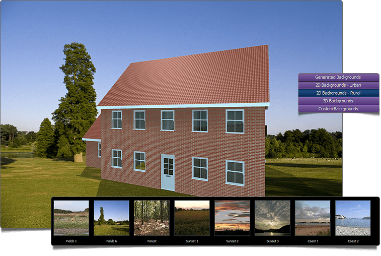 Building Plans 3D PhotoVisualiser  Backgrounds